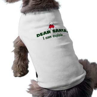 SANTA Pet Clothing