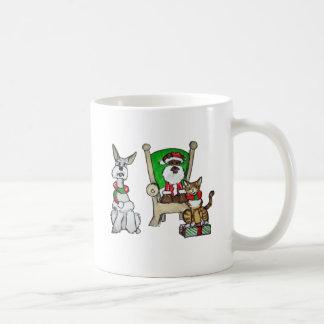 Santa Pets Mugs