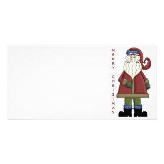 Santa Photo Card