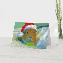 Santa Pig Card