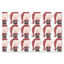 Santa Pig Claus Tissue Paper