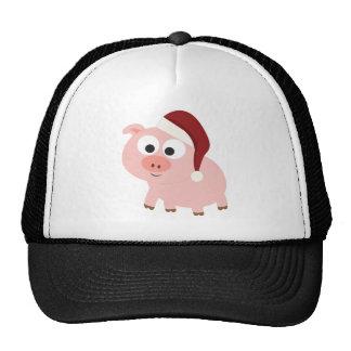 Santa Pig Trucker Hat