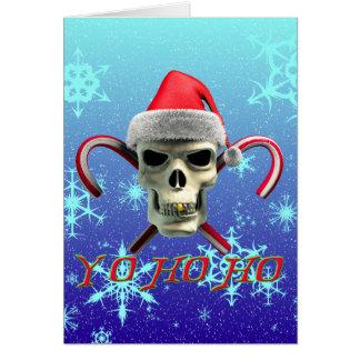 Santa Pirate Card