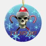Santa Pirate Christmas Tree Ornaments