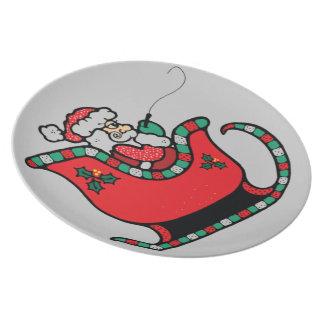 Santa plate