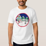 Santa Playing Disc Golf Shirt