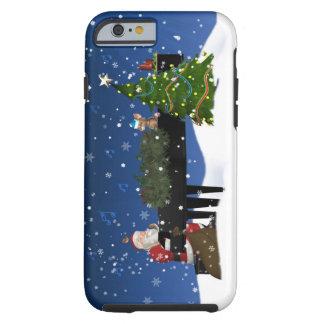 Santa Playing Piano iPhone 6 case