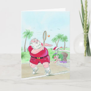Tennis Christmas Cards | Zazzle