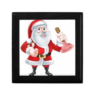 Santa Plumber Trinket Box
