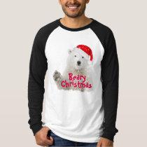 Santa Polar Bear | Beary Christmas T-Shirt