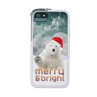 Santa Polar Bear | Beary Xmas iPhone 5/5s Cases