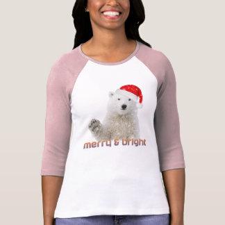 Santa Polar Bear   T-Shirt