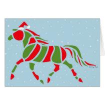 Santa Pony Card