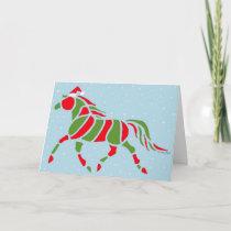 Santa Pony Holiday Card