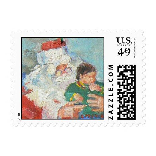 """Santa"" Postage"