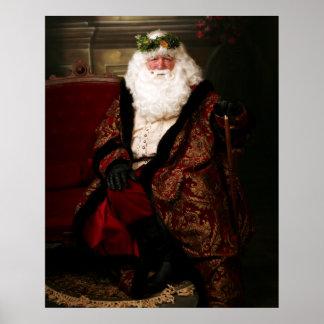Santa Print