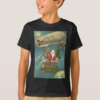 Santa Presents Gifts Christmas Tree Balloon T-Shirt