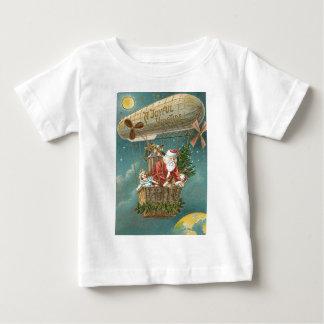 Santa Presents Gifts Christmas Tree Balloon T Shirt