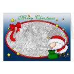 Santa Presents template Greeting Card