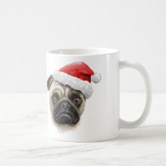 Santa Pug Mug