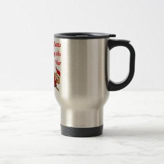 Santa que no viene tazas de café