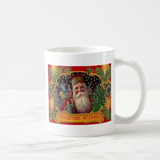 Santa que trae presentes taza