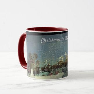 Santa Rag Doll Christmas Mug