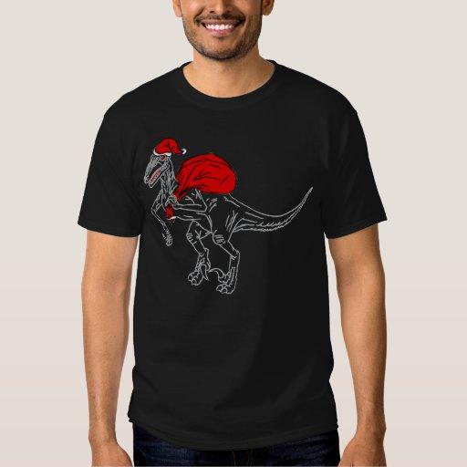 Santa Raptor - dark Tee Shirts