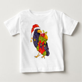Santa Raven T-Shirt