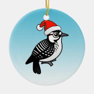 Santa Red-cockaded Woodpecker Christmas Christmas Tree Ornament