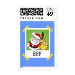Santa & Reindeer  BFF's Stamp