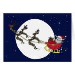 Santa & Reindeer Cards