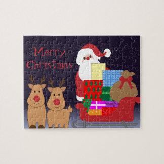 Santa & Reindeer Puzzle