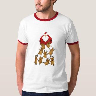 Santa & Reindeer Shirt