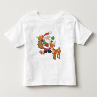Santa & Reindeer Tee Shirt
