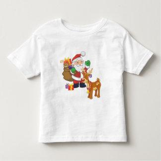Santa & Reindeer Toddler T-shirt