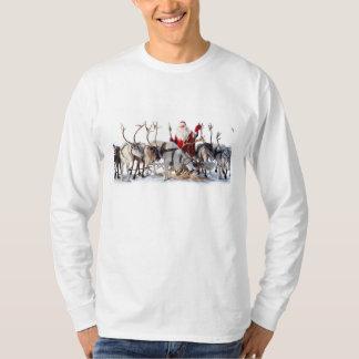 Santa Reindeers T-Shirt