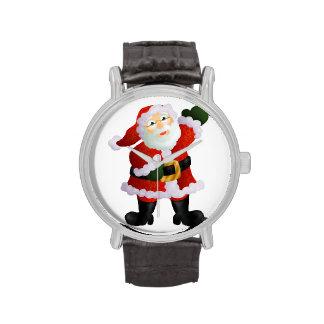 Santa Reloj De Mano