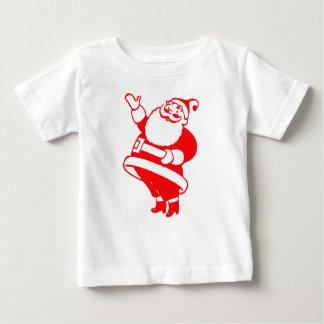 Santa retro tee shirt