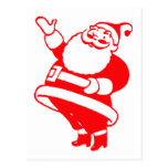 Santa retro postales