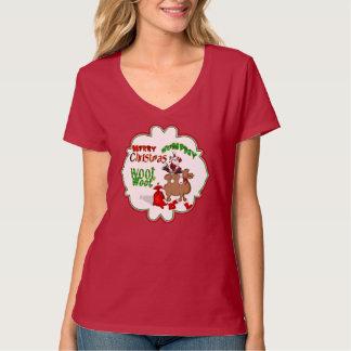 Santa Riding Hump Day Camel T-Shirt
