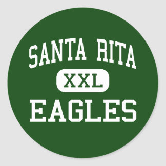 Santa Rita - Eagles - High School secundaria - Tuc Etiqueta Redonda