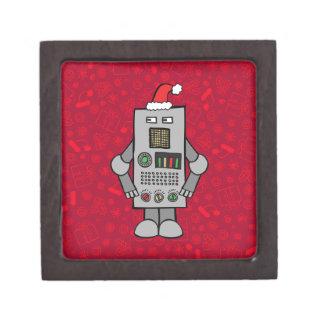 Santa Robot Jewelry Box