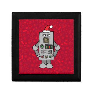 Santa Robot Keepsake Box