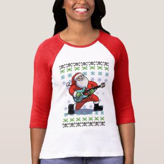 Santa Rock Ugly T Shirts