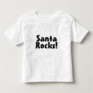 Santa Rocks 1 Tee Shirts
