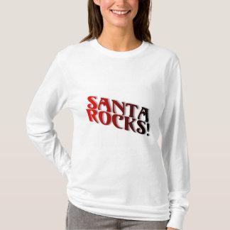 Santa Rocks 3 T-Shirt