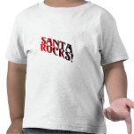 Santa Rocks 3 Tshirt
