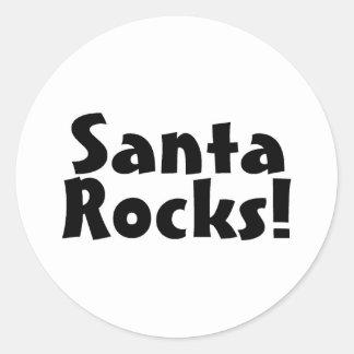 Santa Rocks 4 Sticker
