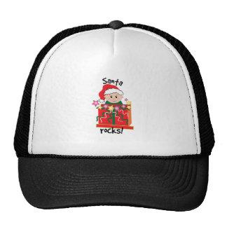 Santa Rocks! Trucker Hat